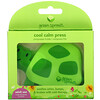 Green Sprouts, Cool Calm Press, Green, 1 Count
