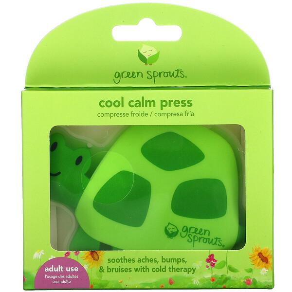 Cool Calm Press,綠色,1 個