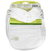 Green Sprouts, Muslin Bibs, 0-12 Months, White, 5 Pack