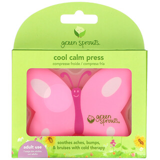 Green Sprouts, Cool Calm Press, Pink, 1 Count