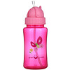 Green Sprouts, Straw Bottle, Pink