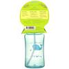 Green Sprouts, Straw Bottle, 9+ Months, Aqua, 10 oz (300 ml)