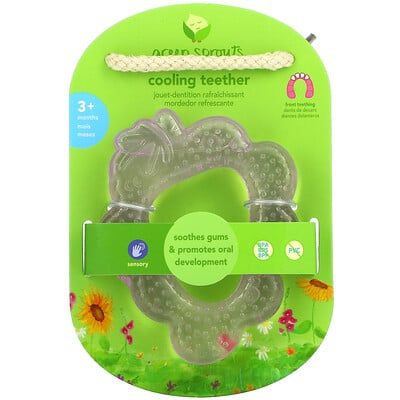 Купить Green Sprouts Cooling Teether, 3+ Months, Purple Grape, 1 Teether