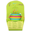 Green Sprouts, Sprout Ware Stacking Cups,  6+ Months, Multicolor, 6 Cups