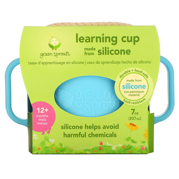 Learning Cup, 12+ Months, Aqua, 1 Cup, 7 oz (207 ml)
