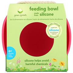 Green Sprouts, 喂食碗,6 個月以上,粉色,1 個