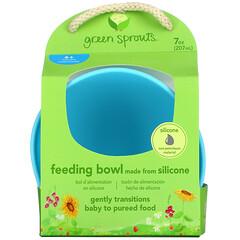 Green Sprouts, 餵食碗,6 個月以上,湖綠色,1 個,7 盎司(207 毫升)