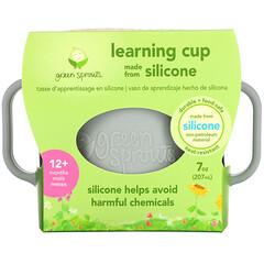 Green Sprouts, 學飲杯,12 個月以上,灰色,1 個,7 盎司(207 毫升)