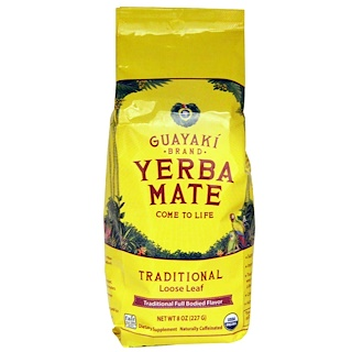 Guayaki, Yerba Mate, Loose Leaf Tea, Traditional, 8 oz (227 g)