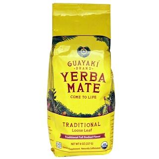 Guayaki, Yerba Mate, Hoja Suelta Tradicional, 8 oz (227 g)