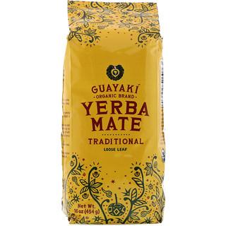 Guayaki, Yerba Mate, Té de hojas sueltas, 424 g (16 oz)