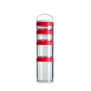 ГоуСтак, Portable Stackable Containers, Red, Starter 4 Pack отзывы