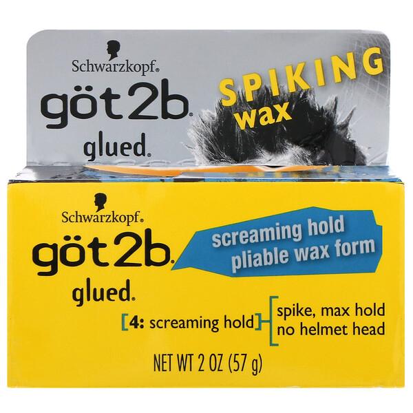 got2b, Glued, cera modeladora para cabelo, 57 g (Discontinued Item)