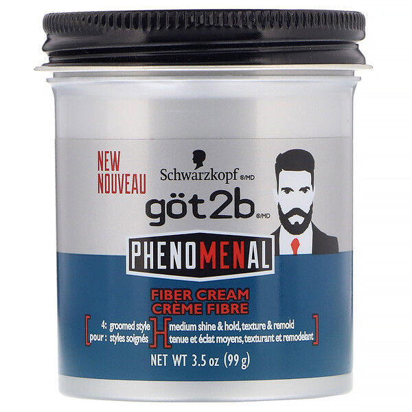 got2b, PhenoMENal, Crème fibre, 99 g (Discontinued Item)