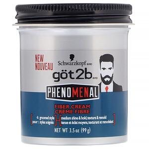 got2b, PhenoMENal Fiber Cream, 3.5 oz (99 g) отзывы покупателей