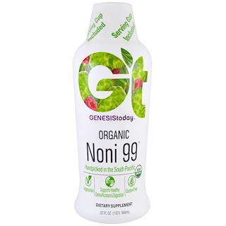 Genesis Today, Organic Noni99, 32 fl oz (946.3 ml)