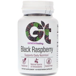 Genesis Today, Black Raspberry, 60 Vegetarian Capsules