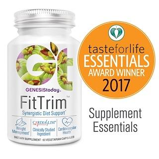 Genesis Today, FitTrim, Synergistic Diet Support, 60 Veggie Caps