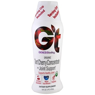 Genesis Today, Organic Tart Cherry Concentrate plus Joint Support, 16 fl oz (473 ml)
