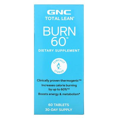 GNC Total Lean Burn 60, 60 Tablets