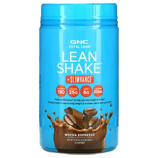 GNC, Total Lean, Lean Shake + Slimvance, Mocha Espresso, 2.3 lb (1060 g)