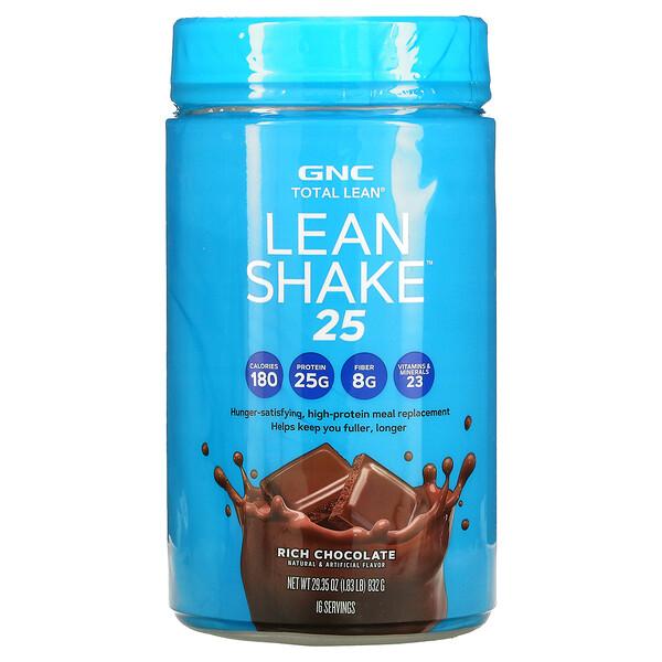 Total Lean, Lean Shake 25, протеин с насыщенным шоколадным вкусом, 832г (29,35унции)