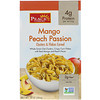 Peace Cereal, Clusters & Flakes Cereal, Mango Peach Passion, 10 oz (284 g)