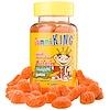 GummiKing, Lutein Omega-3 Gummi, 60 Gummies