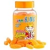 GummiKing, Vitamin C for Kids, Natural Orange Flavor, 60 Gummies