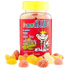 Gummi King, シュガーフリー・マルチビタミン、子供用、60グミ