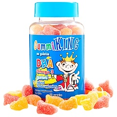 Gummi King, DHA Omega-3 Gummi for Kids, 60 Gummies