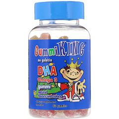 GummiKing, DHA Omega-3 Gummi for Kids, 60 Gummies