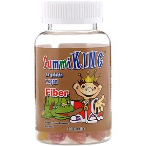 Гумми Кинг, Fiber, 60 Gummies отзывы