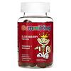 GummiKing, Elderberry For Kids, Immunity + Wellness, Raspberry Flavor, 60 Gummies