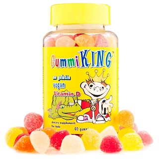 GummiKing, Vitamin D, 60 Gummies