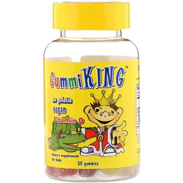 GummiKing, Vitamin D for Kids, 60 Gummies