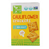From The Ground Up, Cauliflower Crackers, Sea Salt, 4 oz (113 g)