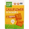 From The Ground Up, Cauliflower Crackers, Cheddar Flavor, 4 oz (113 g)