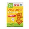 From The Ground Up, Cauliflower Crackers, Nacho Flavor, 4 oz (113 g)