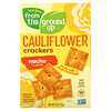 From The Ground Up, Cauliflower Crackers, Nacho, 4 oz (113 g)