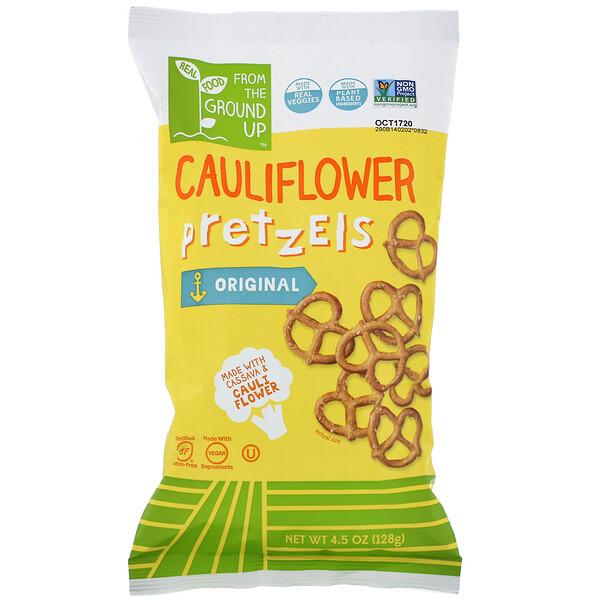 From The Ground Up, Cauliflower Pretzel, Original, 4.5 oz (128 g) (Discontinued Item)