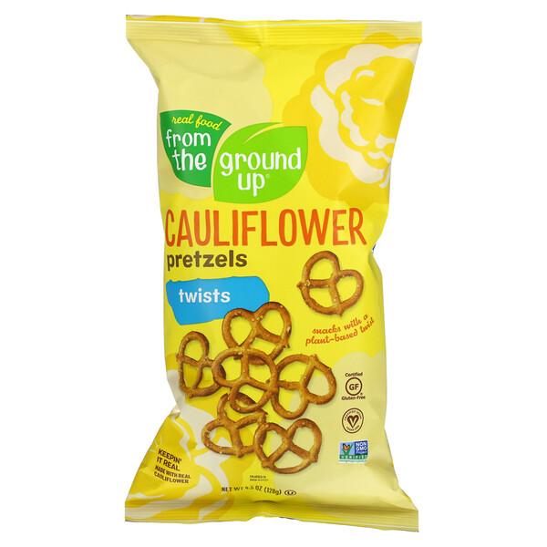 Cauliflower Pretzels, Twists, 4.5 oz (128 g)