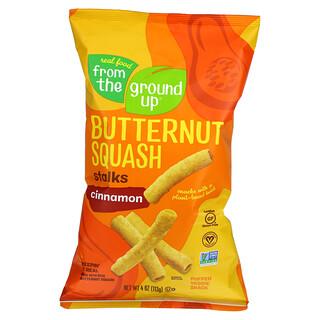 From The Ground Up, Butternut Squash, Stalks, Cinnamon, 4 oz (113 g)