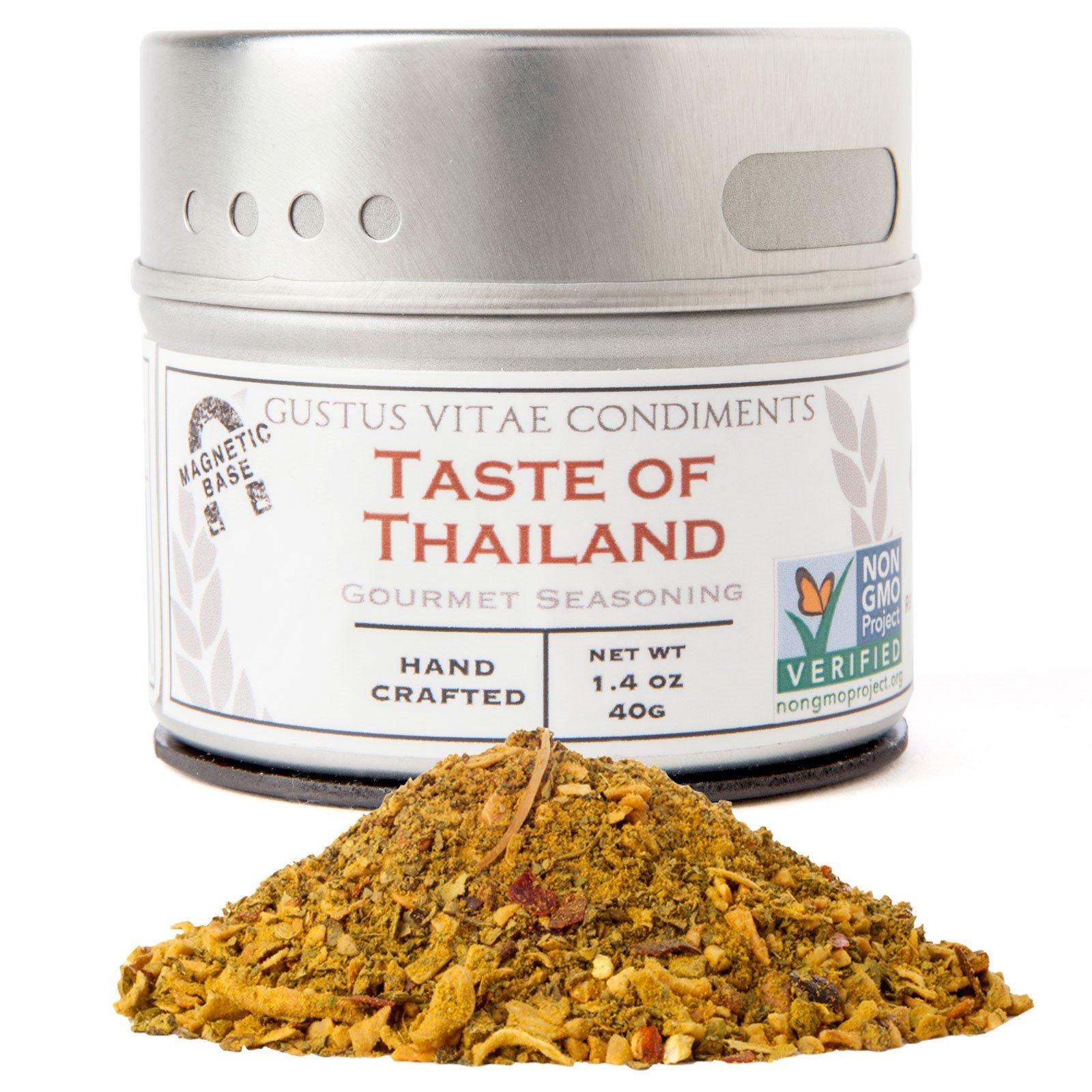 Gustus Vitae, Condiments, Изысканная приправа, вкус Таиланда, 1.4 унций (40 г)