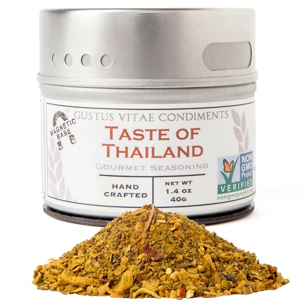 Gustus Vitae, Gourmet Seasoning, Taste of Thailand, 1.4 oz (40 g) (Discontinued Item)