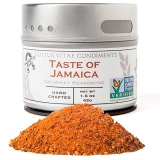 Gustus Vitae, Gourmet Seasoning, Taste of Jamaica, 1.5 oz (42 g)