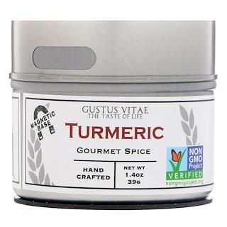 Gustus Vitae, Gourmet Spice, Turmeric, 1.4 oz (39 g)