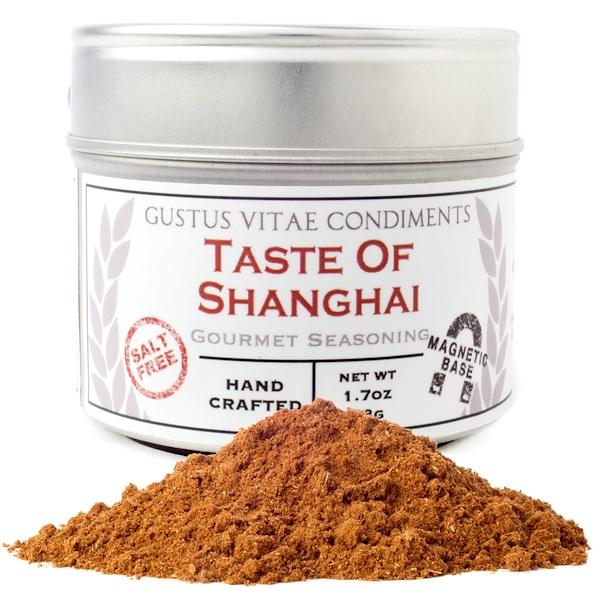 Gustus Vitae, Condiments, Gourmet Seasoning, Taste of Shanghai, 1.7 oz (48 g) (Discontinued Item)