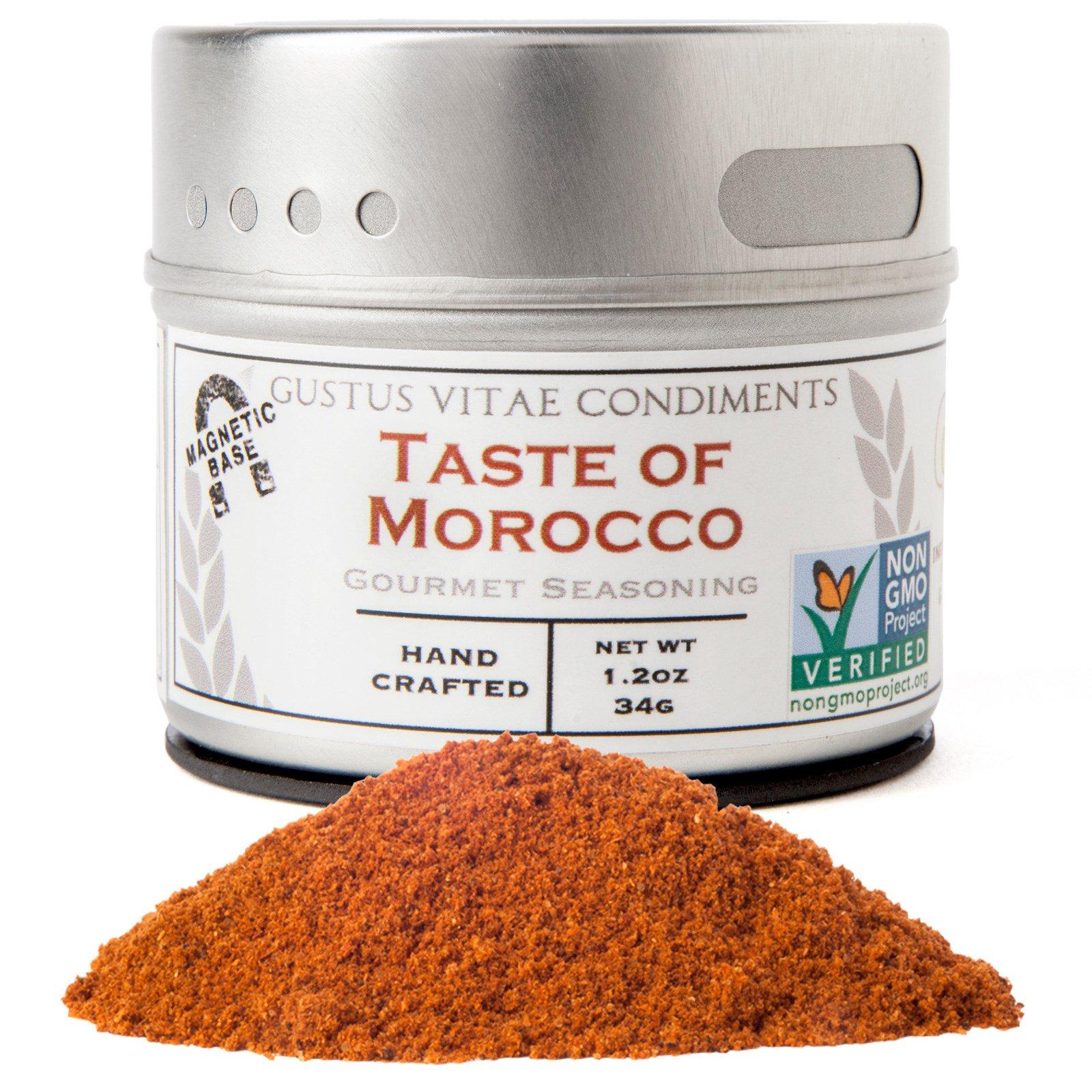 Gustus Vitae, Gourmet Seasoning, Taste of Morocco, 1.2 oz (34g)
