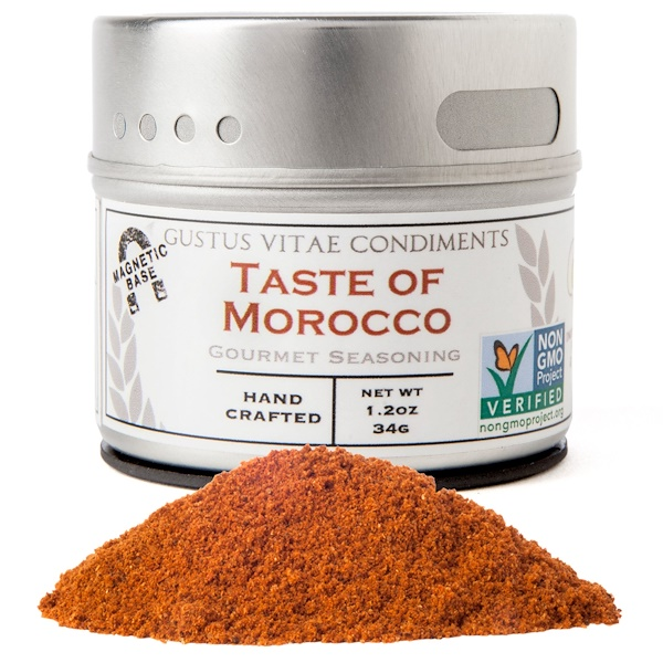 Gustus Vitae, Gourmet Seasoning, Taste of Morocco, 1.2 oz (34g) (Discontinued Item)